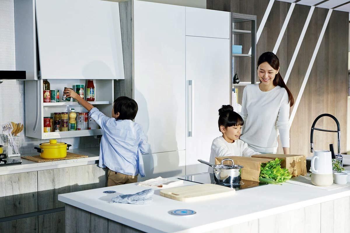 享受智能家居 開啟新世代時尚廚房