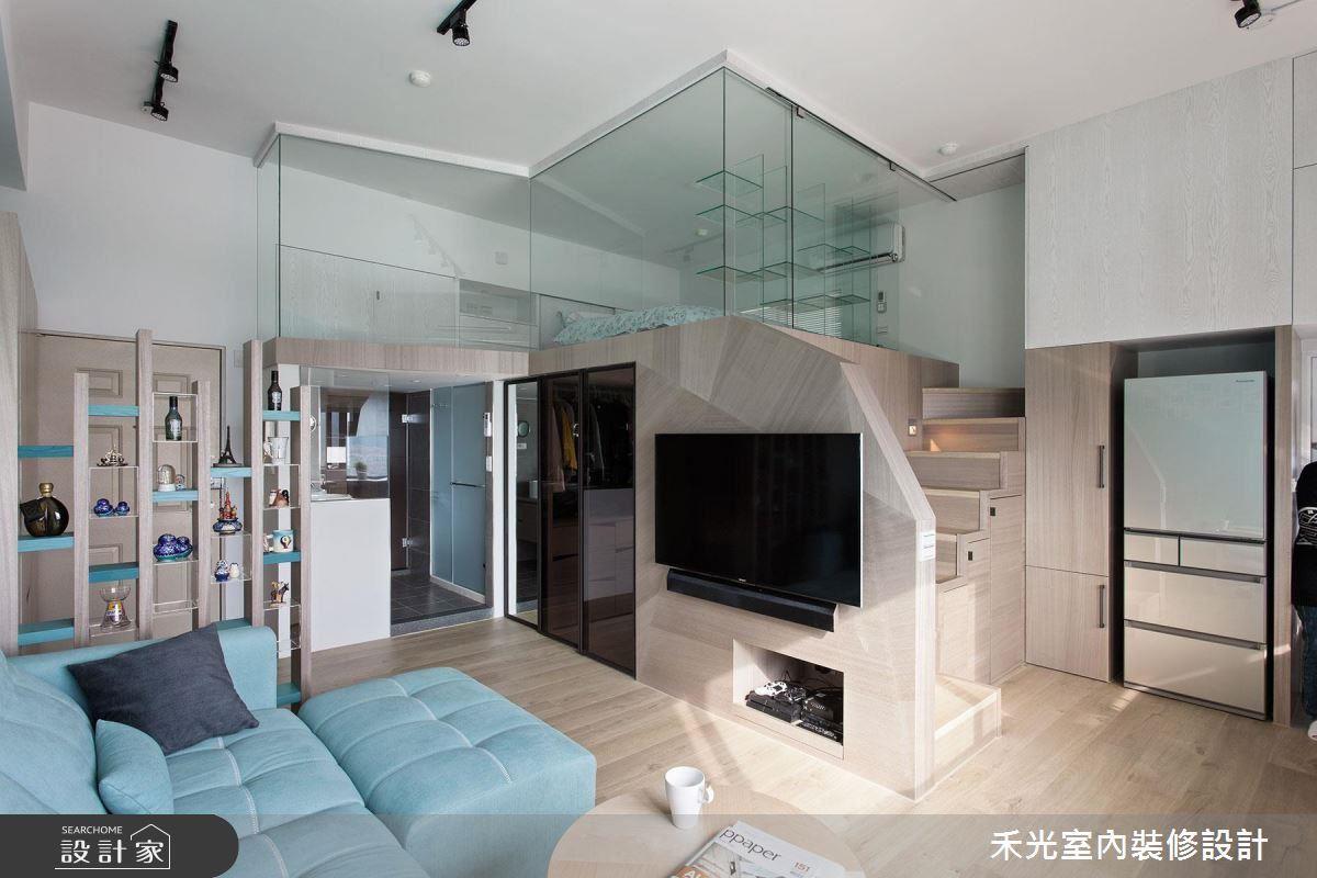清透亮的小宅,收納滿分、書香滿室