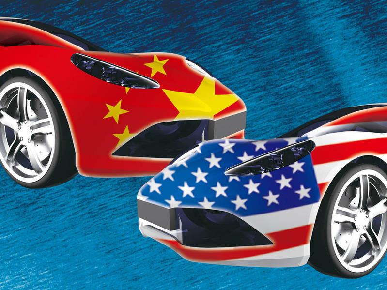 汽車!中美新戰場?