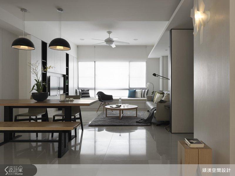 柔、白、亮! 與全家人共享的 40 坪清新北歐宅