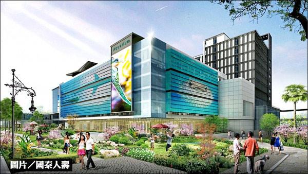 青埔國際商務城上樑 2020年底完工