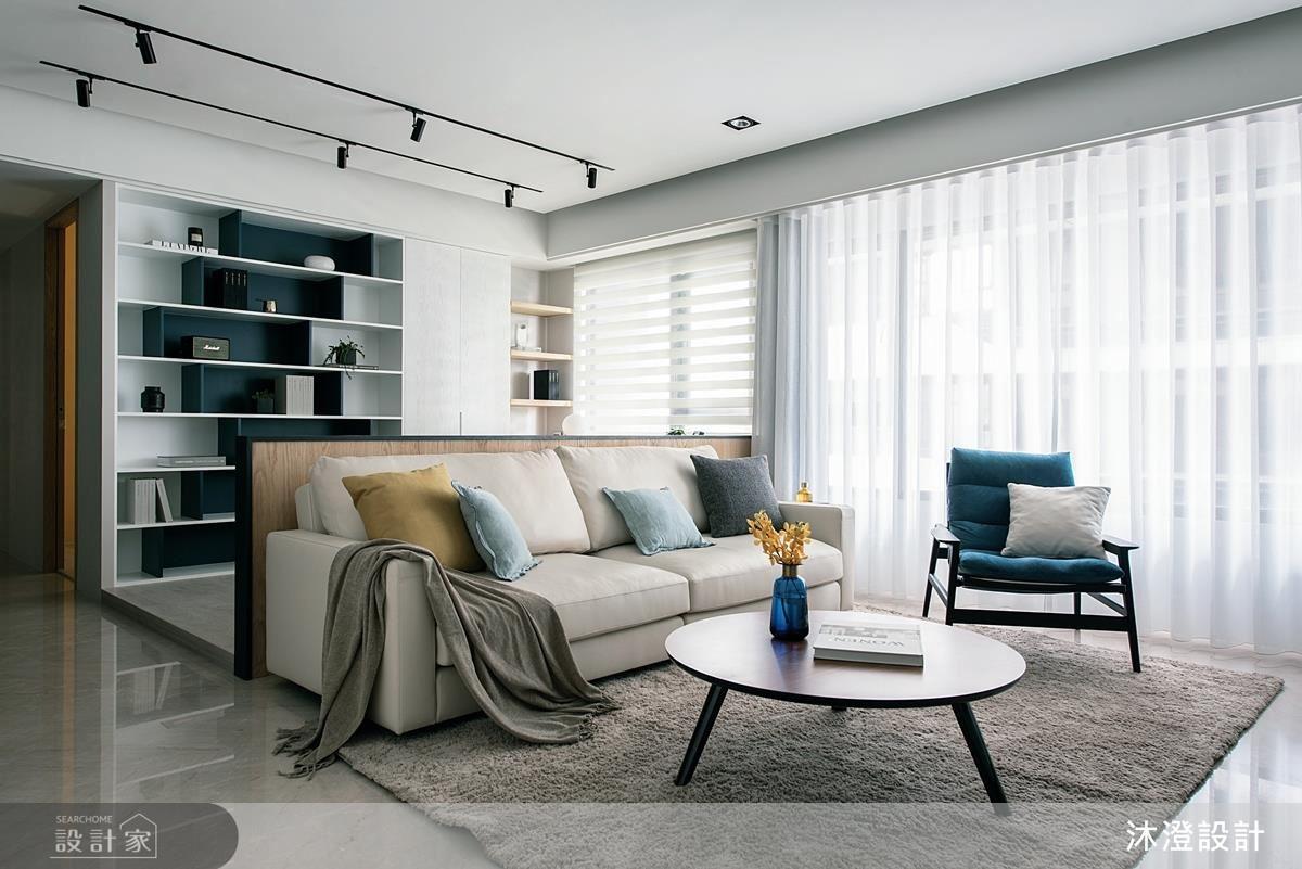 簡約而富有表情的現代居家空間