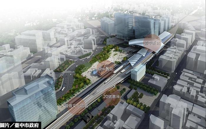 台中鐵道文化園區促參案 正式簽約