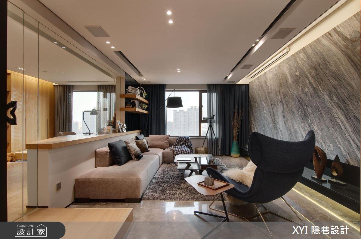 在現代風居宅內,訂製生活中微小的美好
