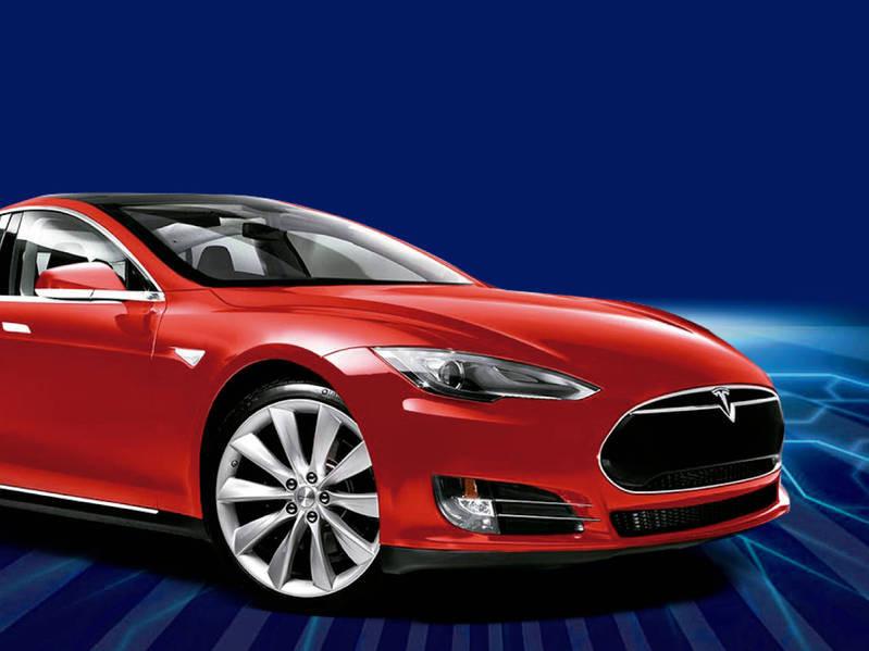 Tesla衝高 電動車明星 股 飆速