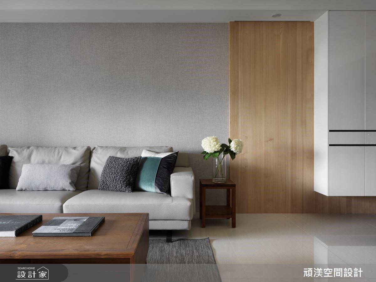 40坪現代風簡約宅,溫煦木質調+...