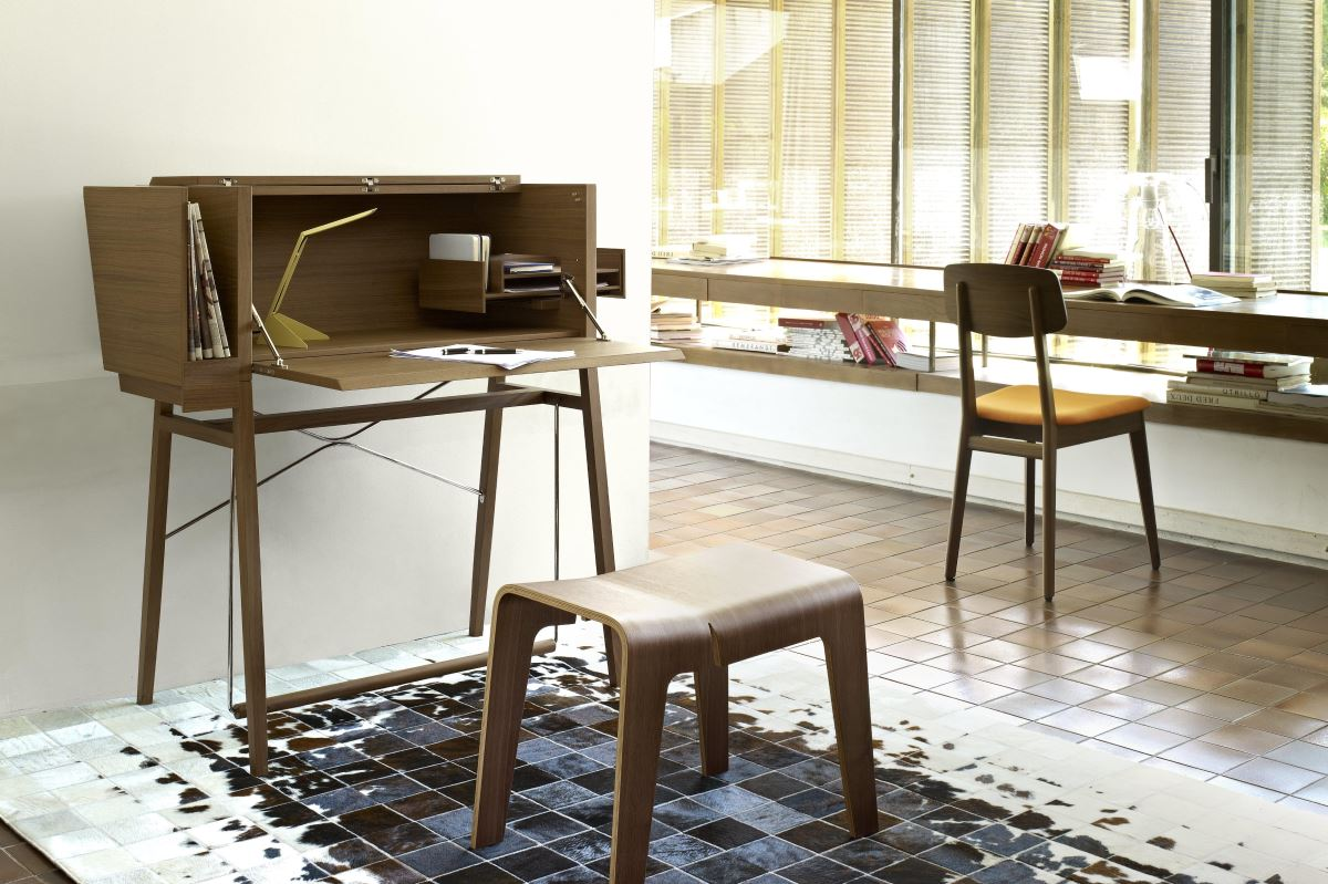 機能書桌變身奇蹟小書房,空間利...