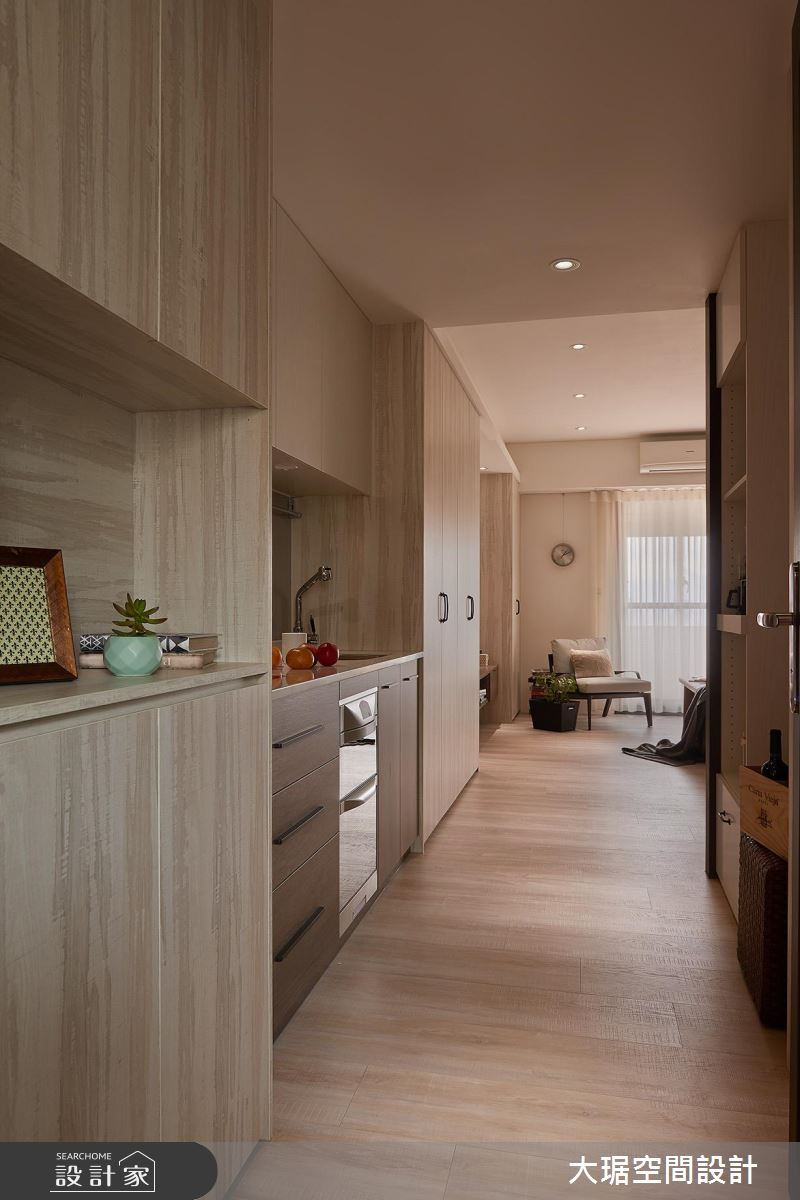 超完美單身套房!包辦廚房、起居...