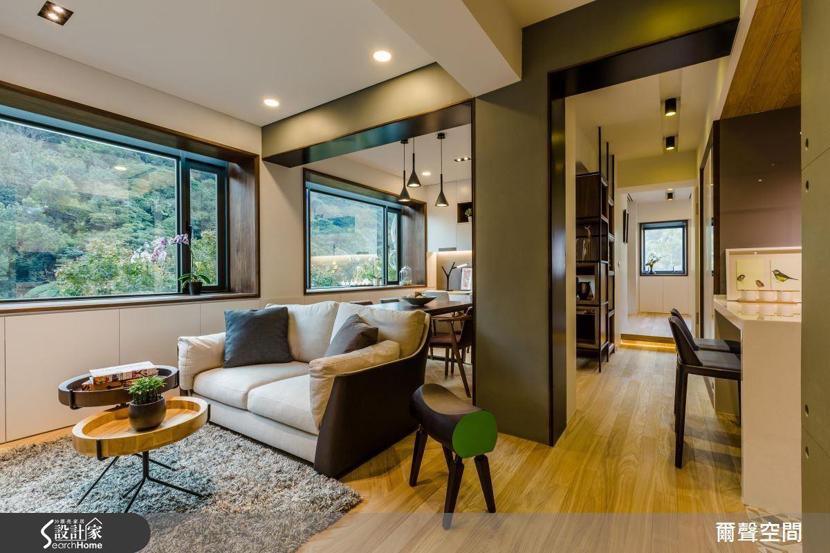 大全景綠意入室 光影老屋裡的時尚生活