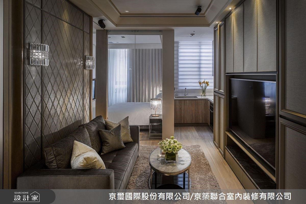 漫步 17 坪宅邸靜享上海奢華風情!開放式設計...