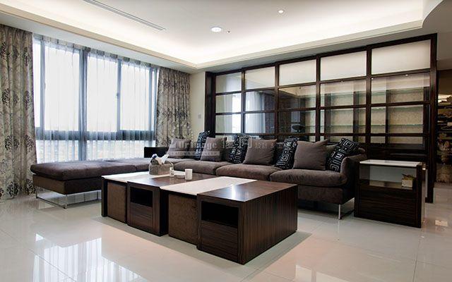 採光良好的客廳區