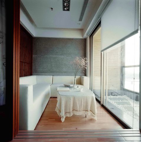 室內延續所刻意再生的靜謐角落