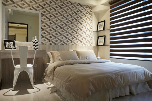 ▲臥室營造時尚又蘊含奢華質感休憩空間