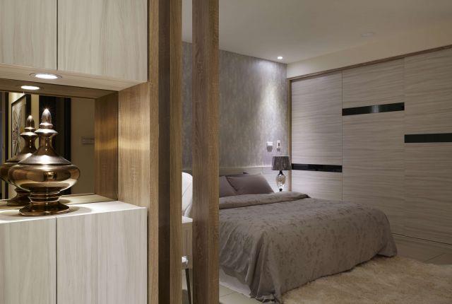 ▲臥室浪漫情調光線色彩家飾下營造韻味