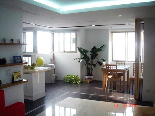 餐廚區引進明亮採光,讓廚房不再是陰暗封閉的角落。